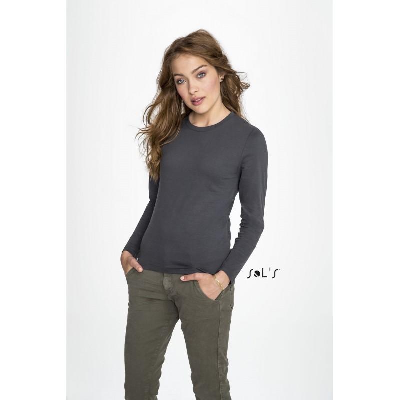 Tee-shirt-coton Imperial lsl women