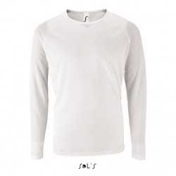 Tee-shirt-polyester Sporty lsl men