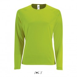 Tee-shirt-polyester Sporty lsl women