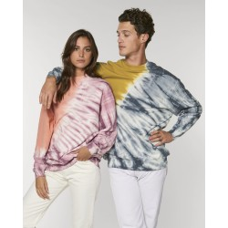 Sweat col rond Firer Tie and Dye