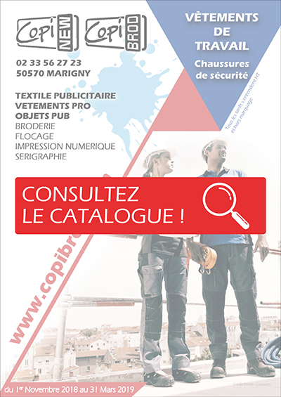 Catalogue Vêtement de Travail - Copinew