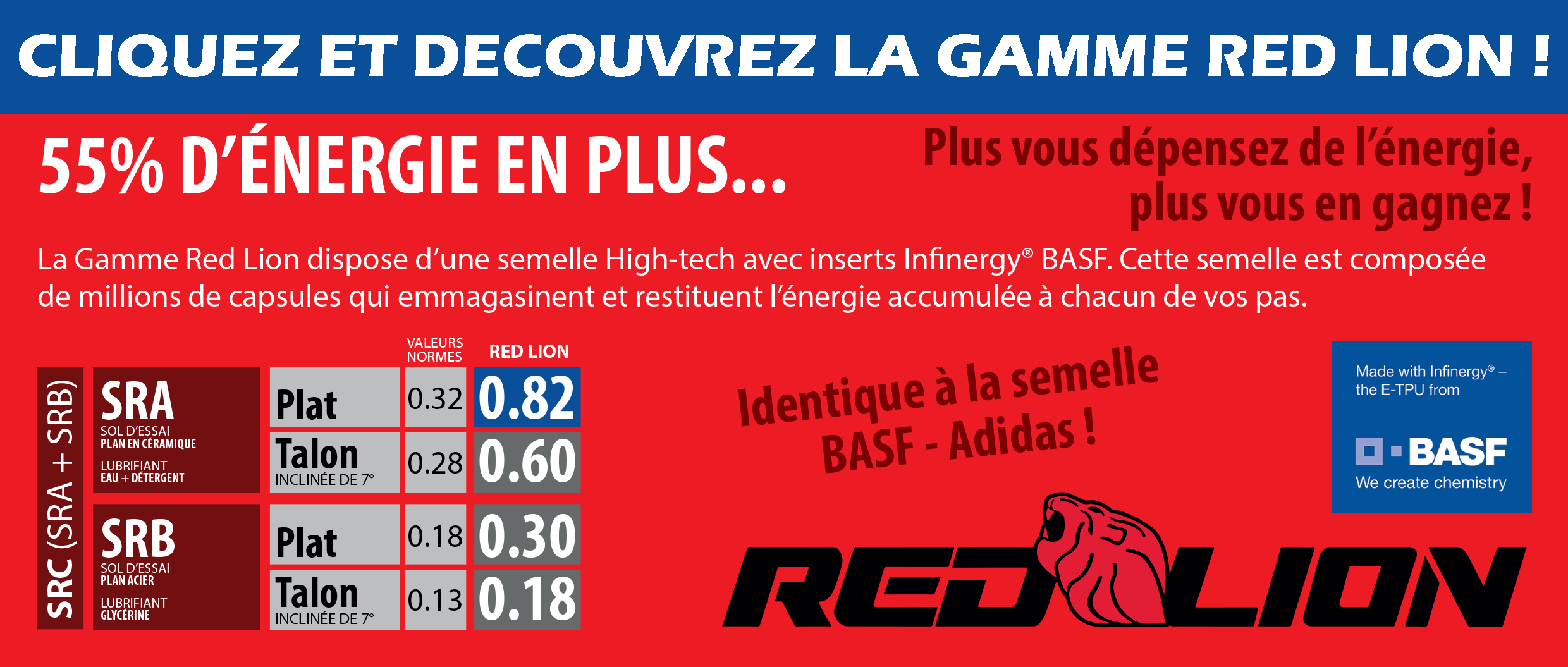 RED LION - CHAUSSURES DE SECURITE